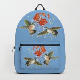 Hummingbird Watercolor Backpack
