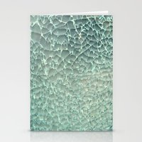 mercedes Stationery Cards featuring Shattered by RichCaspian