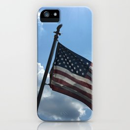 Torn, but still flying iPhone Case