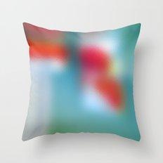 TRANSLUCENTE | redblue Throw Pillow