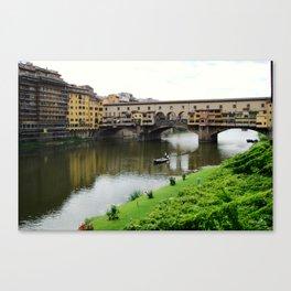 ponte vecchio, florence, italy Canvas Print