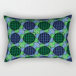 Tesselating Turtles Rectangular Pillow