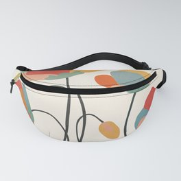 Colorful Flowers Fanny Pack