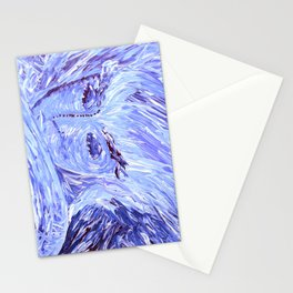 Frozen Man Stationery Cards