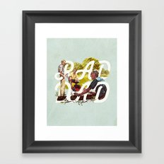 Rad Dad II Framed Art Print