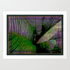 Jungle Beats Art Print