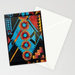 Indian Blankets Stationery Cards