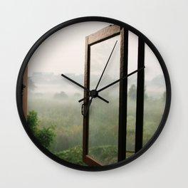 God opens a window Wall Clock