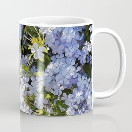 a violet flower in the heart of Athens Coffee Mug