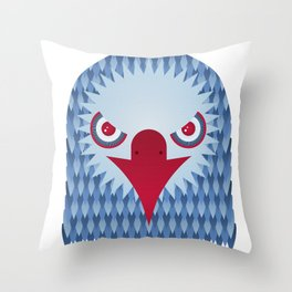 Geometric Eagle Throw Pillow