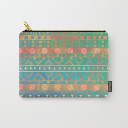 Inspired Aztec Pattern 2 Carry-All Pouch