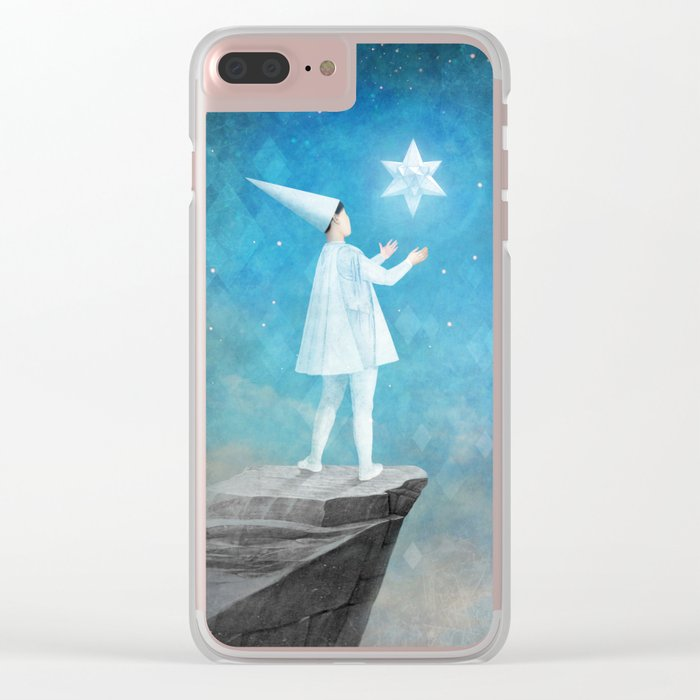 The Silent Princess Clear iPhone Case