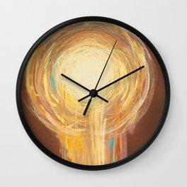 Abstract Art Power Energy Wall Clock