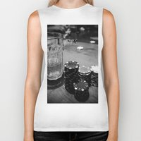 poker Biker Tanks featuring Poker Time by Eduard Leasa Photography