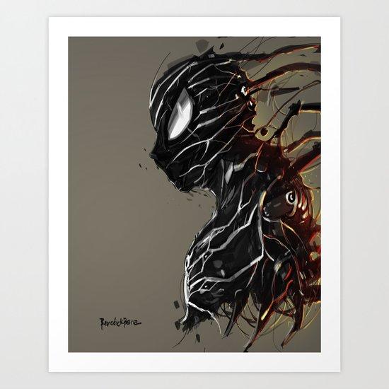 Web of Shadows Art Print