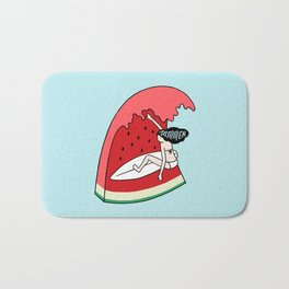 Watermelon Surf Bath Mat