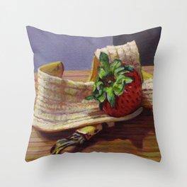 Banana Split Throw Pillow