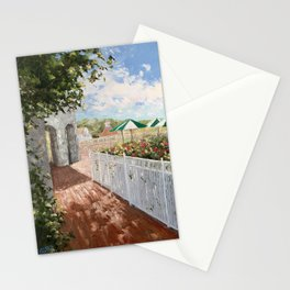 On Deck at Bay Stationery Cards