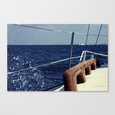 Waves Breaking to Windward Canvas Print