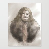 fili Canvas Prints featuring Fili  by AlyTheKitten