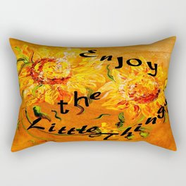 Enjoy the Little Things Rectangular Pillow