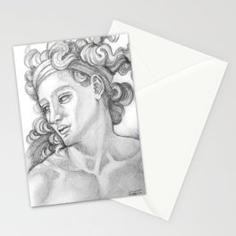 Ignudi after Michael Angelo. Sistine Chapel Stationery Cards