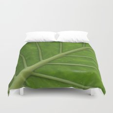 Elephant Ear Leaf Duvet Cover