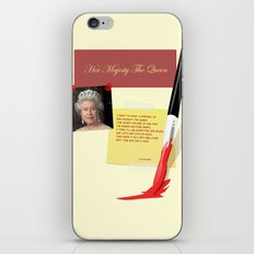 Her Majesty The Queen iPhone & iPod Skin
