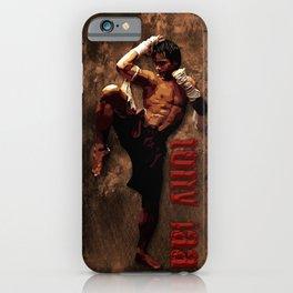 Ong bak Tony Jaa the Muang thai kick boxing Warrior iPhone Case