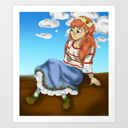 StrawberryShortcake Art Print