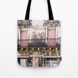 SICILIAN FACADE Tote Bag