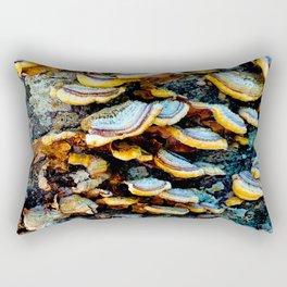 Tree Fungi Pattern Rectangular Pillow