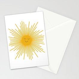 Happy Sun Stationery Cards