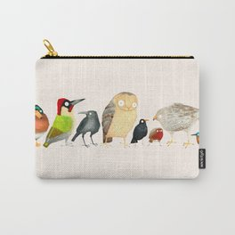 Woodland Bird Collection Carry-All Pouch
