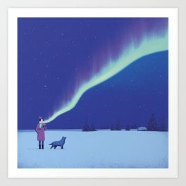 Winter Vibes Art Print