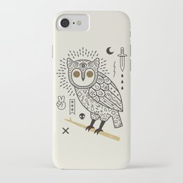 Hypno Owl iPhone Case