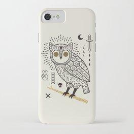 Hypno Owl iPhone Case