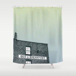 Bed & breakfast Shower Curtain