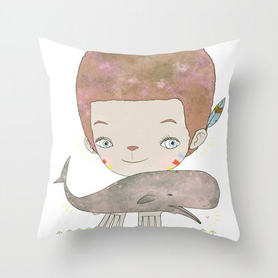 Extinction - SAVE SAFE Throw Pillow