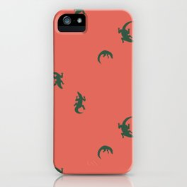 Reptilian- Coral iPhone Case