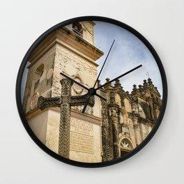 Catholic Church Iglesia La Merced in Granada, Nicaragua Wall Clock