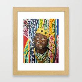 coogi biggie  Framed Art Print