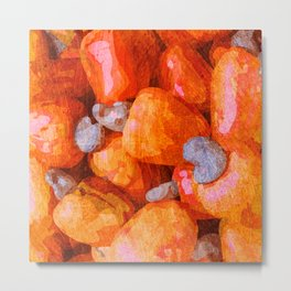 Fruits - Caju Metal Print