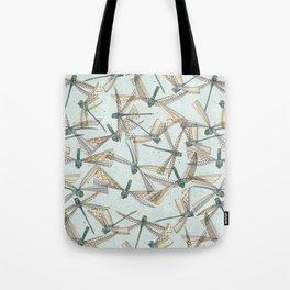 watercolor dragonflies Tote Bag