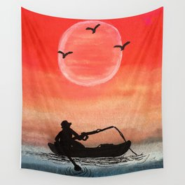 Patience and Solitude Wall Tapestry