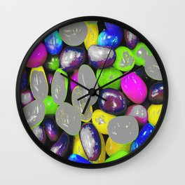 Color bomb Wall Clock
