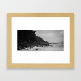Tasmania East Coast Beach Framed Art Print