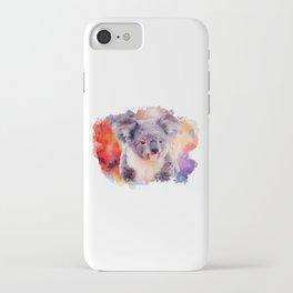 Watercolor Koala iPhone Case