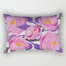 Flower study Rectangular Pillow