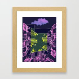 Stellar Area 01-08-16 Framed Art Print